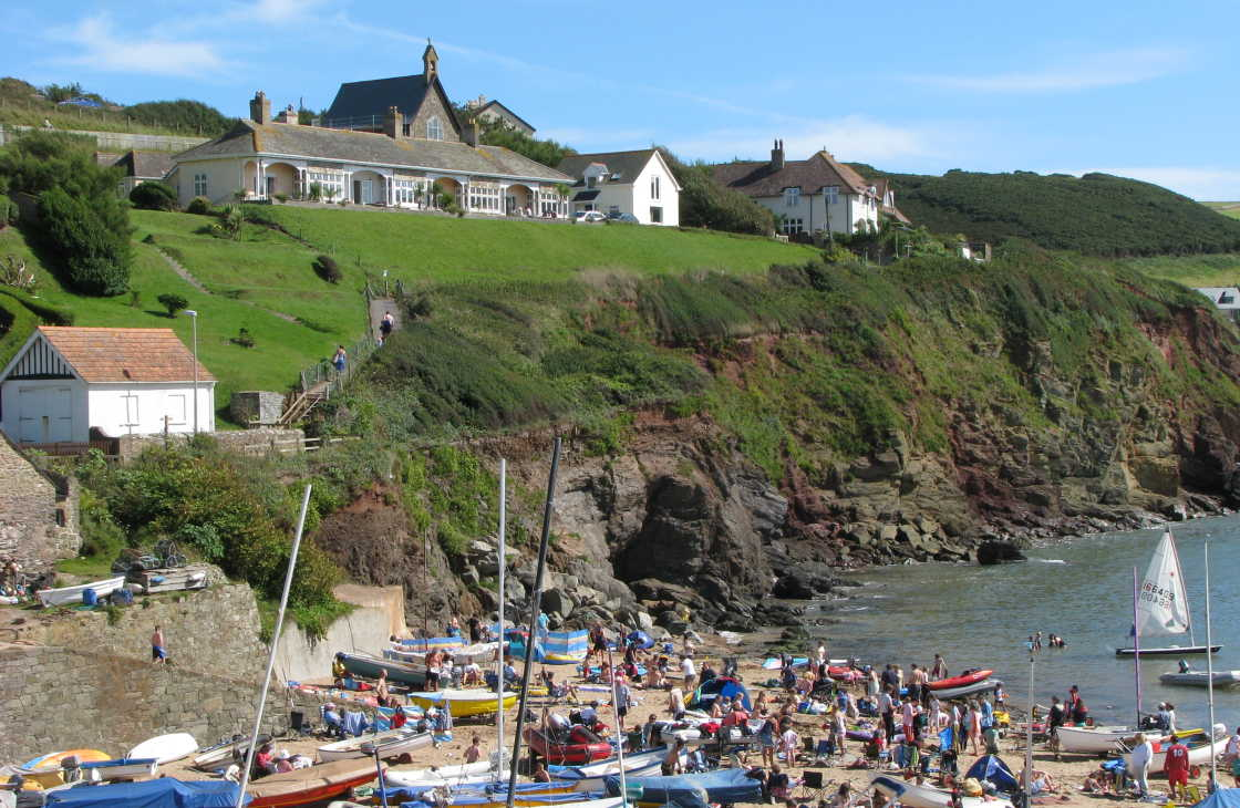 Hope Cove South Devon England
